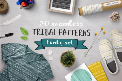 Set of funky patterns