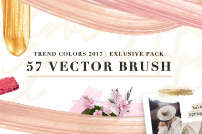 57 Vector Cream Brush - Trend colors