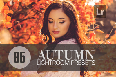 95 Autumn Lightroom Presets bundle Vol.2 (Presets for Lightroom 5,6,CC)