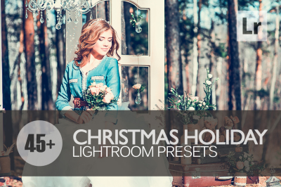 45+ Christmas Holiday Lightroom Presets bundle (Presets for Lightroom 5,6,CC)