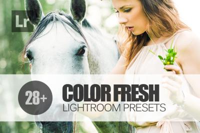 28 Color Fresh Lightroom Presets bundle (Presets for Lightroom 5,6,CC)