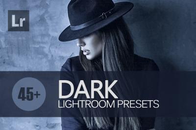 45+ Dark Lightroom Presets bundle (Presets for Lightroom 5,6,CC)