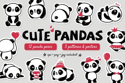 Cute Pandas