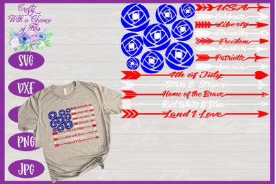 USA SVG | American Flag SVG | July 4th SVG Memorial Day SVG