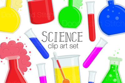 Science Clipart Set