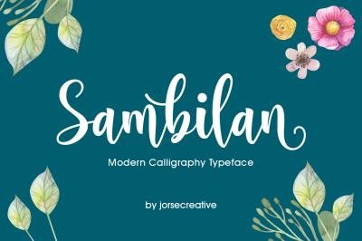Sambilan Font