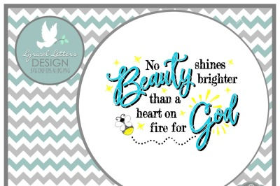 No Beauty Shines Brighter Firefly Lightening Bug LL146 D  Cut-File in SVG DXF EPS AI JPG PNG
