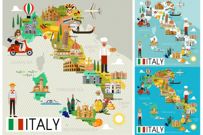 Italy Travel Set