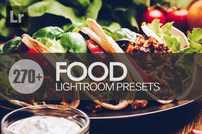 270+ Food Lightroom Presets bundle (Presets for Lightroom 5,6,CC)
