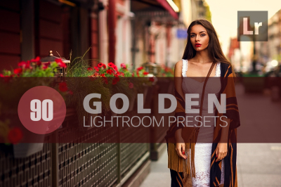 90 Golden Lightroom Presets bundle (Presets for Lightroom 5,6,CC)