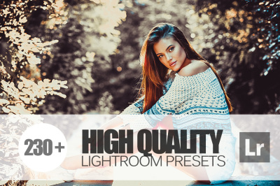 230+ High Quality Lightroom Presets bundle (Presets for Lightroom 5,6,CC)
