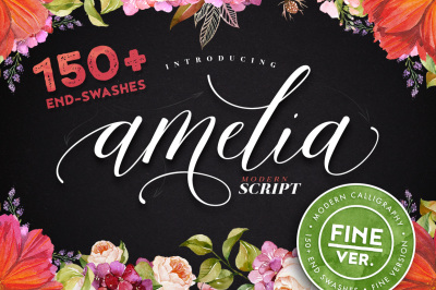 Amelia Script - Fine ver.