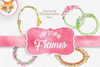 Digital Frame Clipart  Scrapbook VECTOR Frames Images Craft Card Making Page Decoration Popular