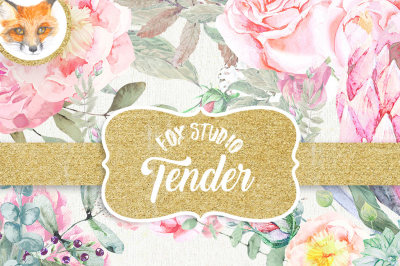 Summer Stacy Watercolor clipart, Romantic wedding, mint green, tender green branches, wedding invitation, peonies, rose flowers, DIY, floral