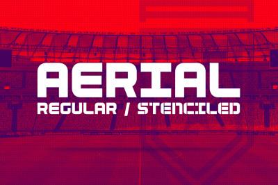 Aerial (Regular & Stencil)