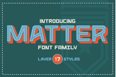 Matter Type Family