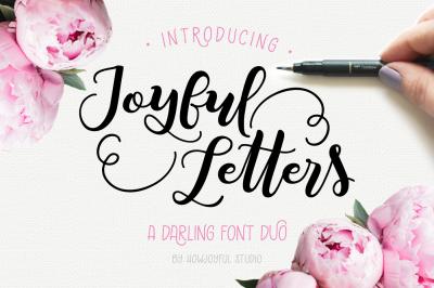Joyful Letters font duo