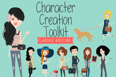 Character creation toolkit - Ladies
