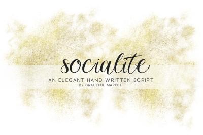 Socialite Script Font