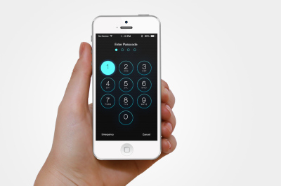 IOS Passcode Interface