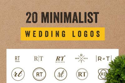 20 Elegant Minimalist Logos Bundle Vol.2