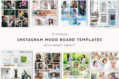 15 Instagram Mood Board Templates Ver. 3