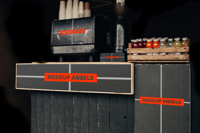 Vintage Coffee Shop Signboard