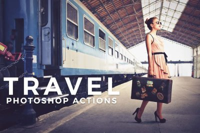 Travel & Landscape Photoshop Actions