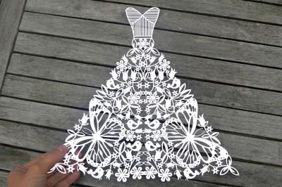 Wedding Dress SVG / DXF / EPS / Files