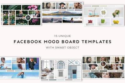 15 Facebook Mood Board Templates