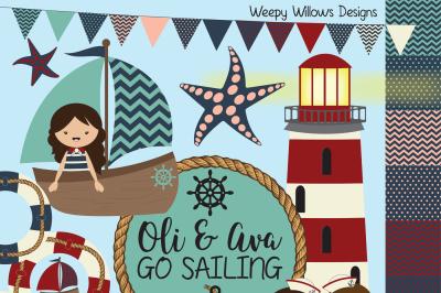 Oli & Ava Go Sailing