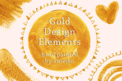 Gold Design Elements I
