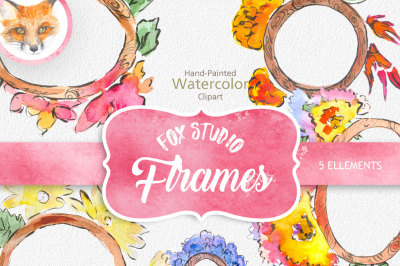 Watercolor Flower Clipart, Wedding floral Clip art, Floral Bouquet Clipart, wedding flowers clip art, Watercolour Hand Painted Clip Art