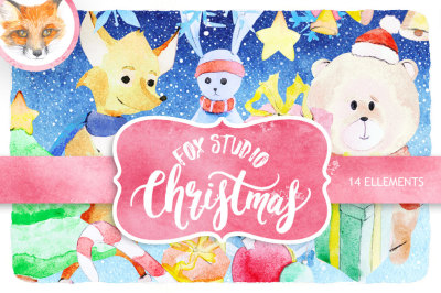 Christmas winter ,Christmas Clipart Instant Download,PNG file - 300 dpi