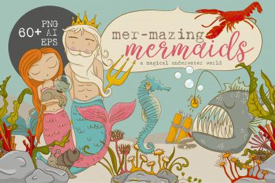 mer-mazing mermaids - graphics