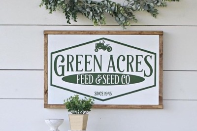 Green Acres Feed & Seed - SVG