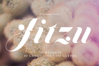 Jitzu | Font Family