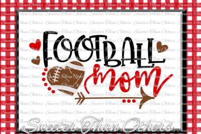 Football SVG Football Mom Svg Distressed Football pattern Vinyl Design SVG DXF Silhouette Cameo Cricut Instant Download Football Design