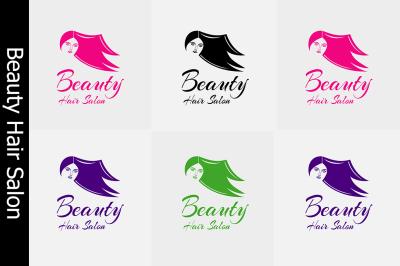 Beauty Hair Salon Logo Set 2