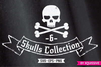 The Skulls Collection - SVG - EPS - Limited time discount!