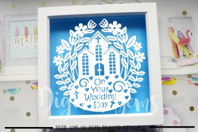 Wedding paper cut SVG / DXF / EPS files