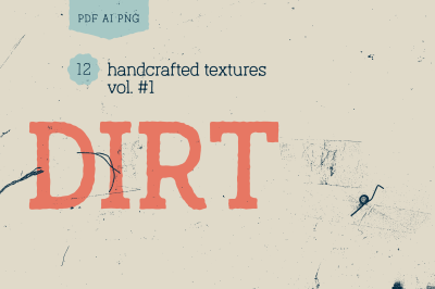 Dirt Vol.#1 Texture Pack