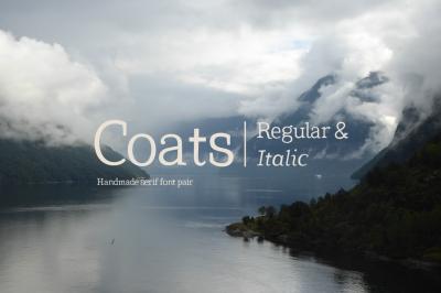 Coats Regular & Coats Italic
