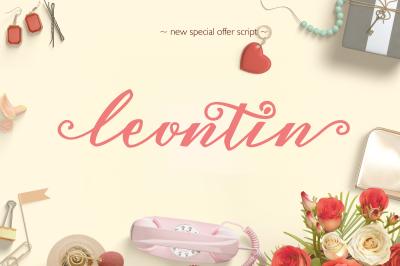 Leontin Script