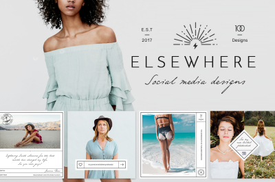 Elsewhere Blog & Social Media Pack