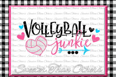 Download Volleyball Svg Volleyball Junkie Svg Design Vinyl Svg Dxf File Volleyball Design Cut File Silhouette Cameo Cricut Instant Download Free Svg Files For Cricut