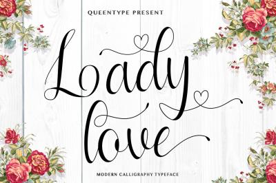 Ladylove Script Typeface