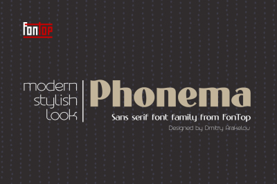 Phonema typeface