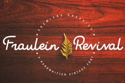 Fraulein Revival Typeface