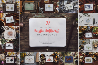 27 Notebook Mockups